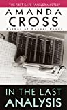 Front cover for the book In The Last Analysis by Amanda Cross