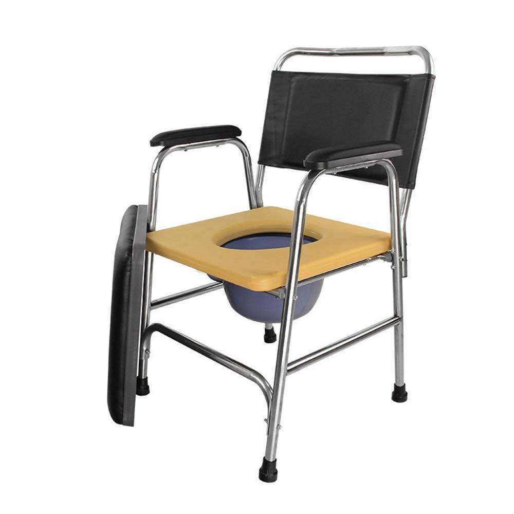 Amazon.com: Silla de ducha con ruedas, silla de baño ...