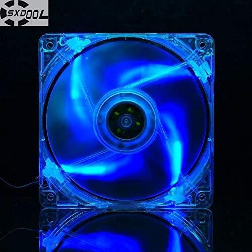 SXDOOL Silent 120MM 1225 12025 12012025MM 12122.5CM slim chassis fan 12025 thin 12CM 12VDC for led light
