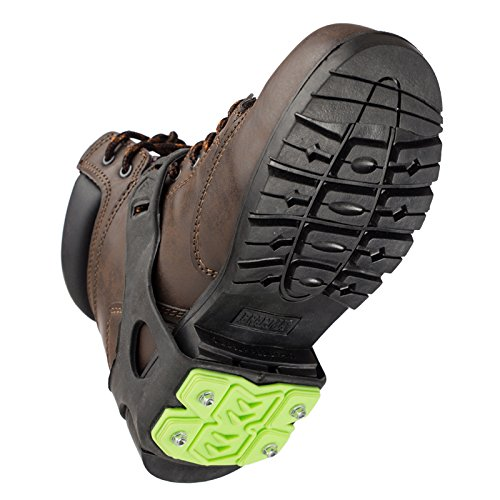 STABILicers STABIL HEEL Traction Ice Heel Cleat with Steel Cleats and Tread for Snow, Ice, Attaches over Shoes and Boots for Safety in Outdoor Winter Weather and Slippery Terrain, OS by STABILicers