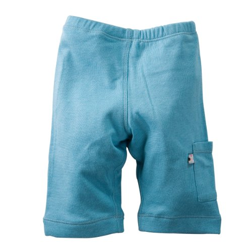 Babysoy Baby Boys' Soft Cozy Pant - Blue - 12-18 Months