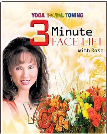 Amazon.com: Yoga Facial Toning 3 Minute Face Lift: Rose Hong ...