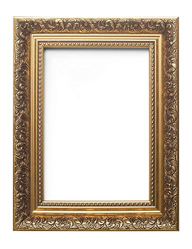 Memory Box French Baroque Style Ornate Swept Antique Style Picture/Photo/Poster Frame (76.2X50.8cm) 30