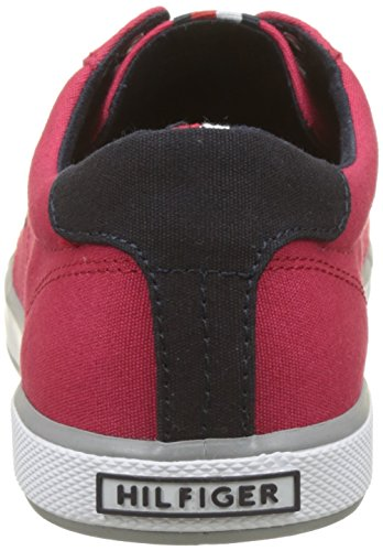 Tango Hilfiger 611 Basses Sneaker Sneakers Homme Iconic Long Rouge Gris Lace Tommy Red vwOxdnqAq