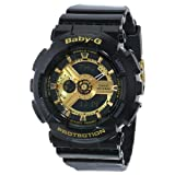 Casio Women's Baby-G BA110-1A Black Resin Quartz Watch