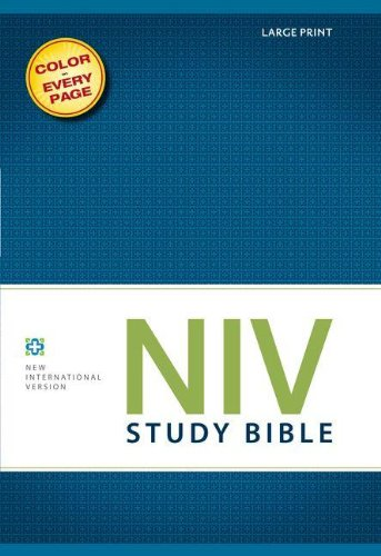 NIV Study Bible, Large Print, Hardcover, Red Letter Edition PDF