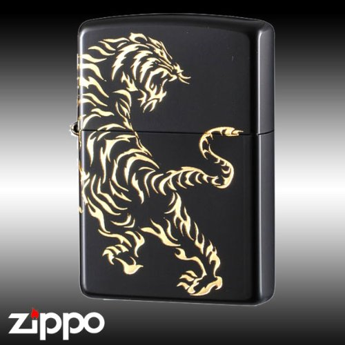 zippo ジッポーライター タイガーアンドドラゴン2BKGTIGER B07355KGSB