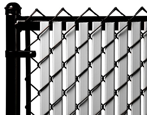 4ft Gray Tube Slats for Chain Link Fence (4 Link Tube)