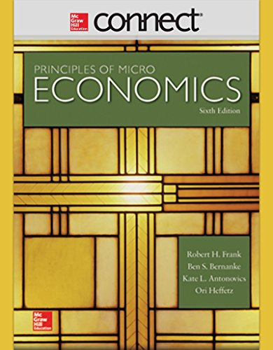 Connect 1 Semester Access Card for Principles of Microeconomics