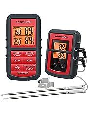 ThermoPro TP08C cyfrowy termometr kuchenny, radiowy, termometr do mięsa, z 2 czujnikami, termometr kuchenny, do grilla, piekarnika