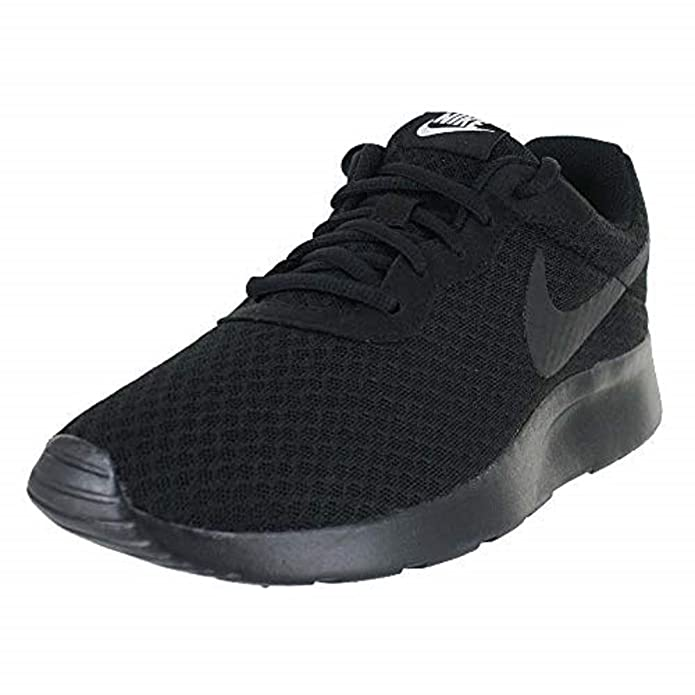 Nike Tanjun Damen Sneaker Laufschuhe Komplett Schwarz