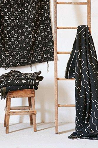 Mud Cloth Bambara - Black/White