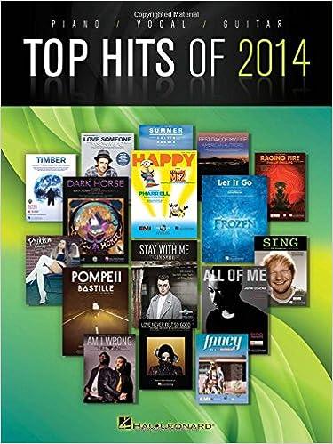 Top Hits Of 2014: PVG Songbook: Amazon.es: Hal Leonard Publishing ...