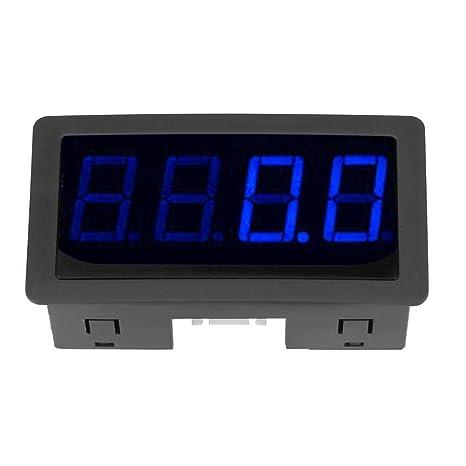 Nimoa 4 Digitaler Drehzahlmesser Für Rot Blaue Led Drehzahlmesser Mit Hall Näherungsschalter Sensor Npn 105 G Blau Gewerbe Industrie Wissenschaft