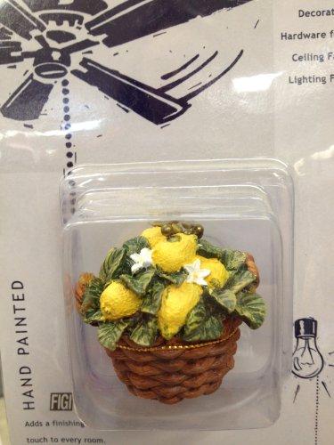 Lemon Basket Fan Pull Chain (Figis Gift Baskets)