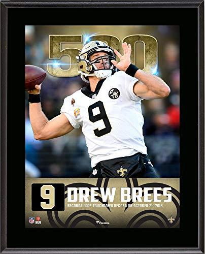 Touchdown Record Photograph - Drew Brees New Orleans Saints 10.5