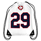 Minnesota Twins Carew R. #29 Hall of Fame Drawstring Backpack