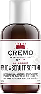 product image for Cremo Beard & Scruff Softener, 30 Second Beard Softener To Soften And Condition Facial Hair Of Any Length, 4 Ounce