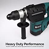 Hiltex 10513 1-1/2 Inch SDS Rotary Hammer Drill   Includes Demolition Bits, Flat and Point Chisels
