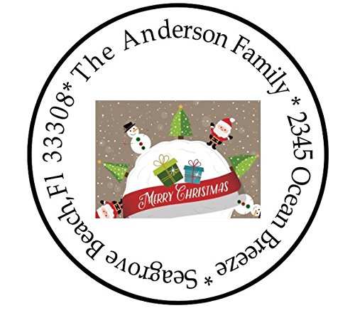 Christmas Address Labels / Holiday Season Labels / Christmas Labels ()