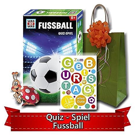 Geburtstagsgeschenk Fur Kinder Ab 8 Quiz Spiel Fussball