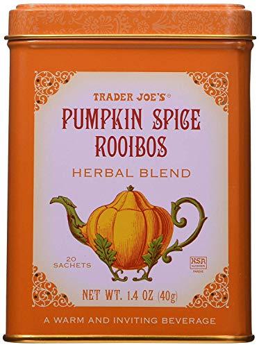 Trader Joe's Pumpkin Spice Rooibos Herbal Blend Beverage