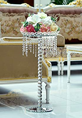 Gorgeous Appearance Crystal Holder Table Stand Tealight Holders