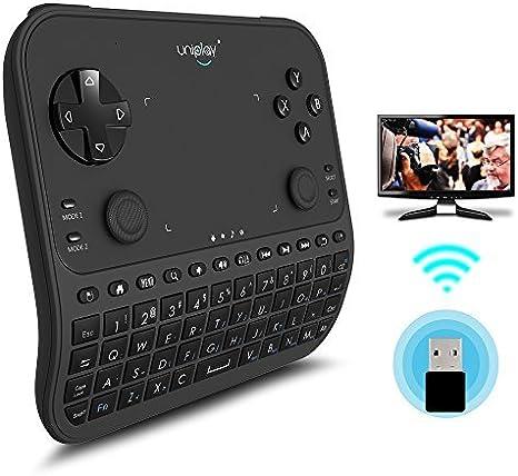 Mando a distancia para TV, uniplay última multifunción remove control controlador de juegos inalámbrico de 2,