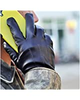 iGT CLASS Men's Touch Screen Winter Texting Leather Gloves