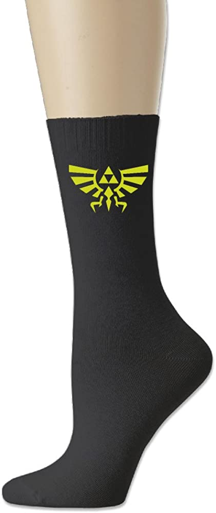 Ayaxi The Legend Of Zelda Hyrule Crest Unisex Cotton Crew Socks