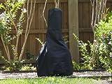 Chiminea Cover Elite 28''Dia X 48''H Color: Black FCP740.BK2