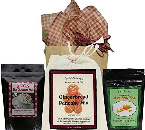 Hot Chocolate , Russian Tea and Gingerbread Pancake Gift Set