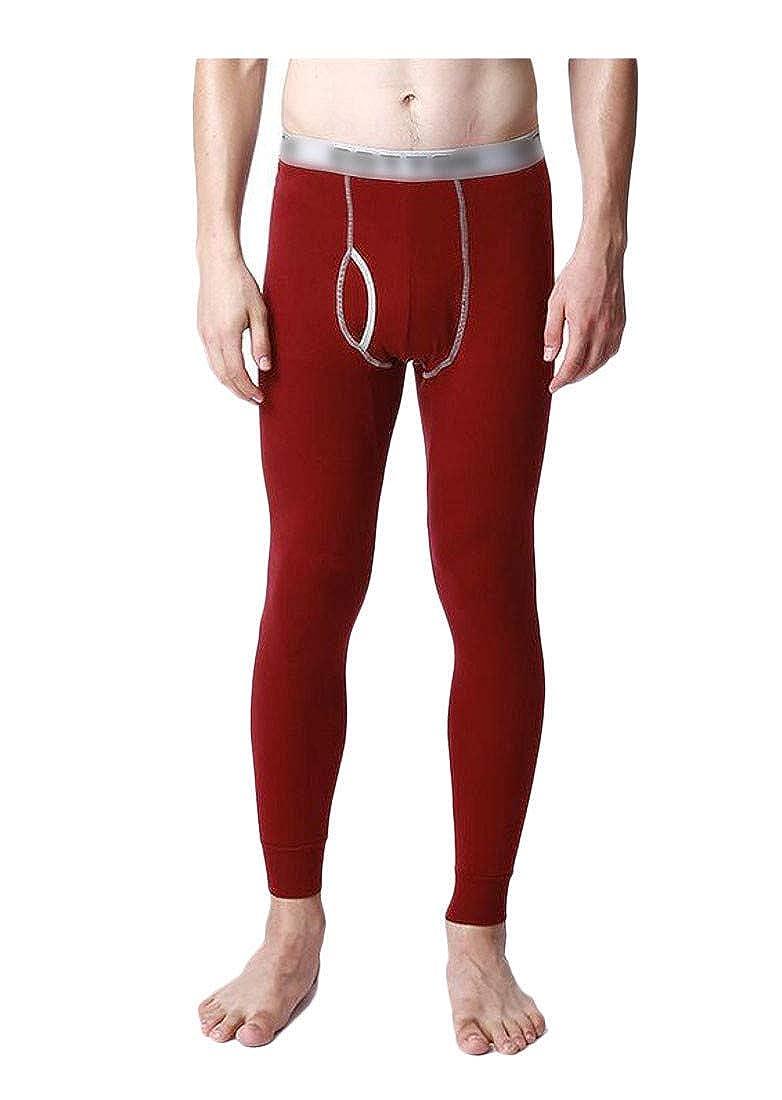 Joe Wenko Mens Warm Ultimate Solid Cotton Base Layer Legging Johns