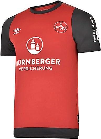 UMBRO - Camiseta de fútbol del FC Nürnberg 19/20 para hombre: Amazon.es: Ropa y accesorios