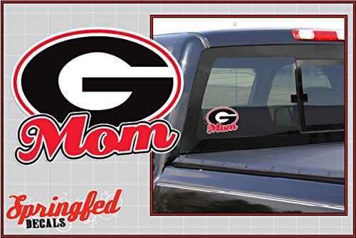Georgia Bulldogs Sticker Decal Vinyl SET OF 2 Cornhole Truck Car