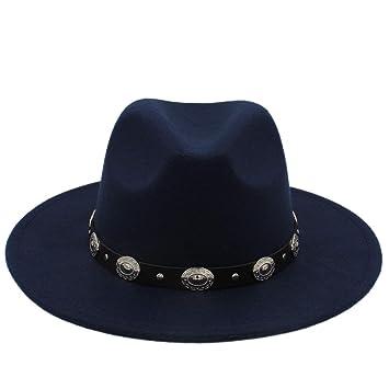 Caliente Barato Unisex de lana Sombreros de Jazz Sombrero de fedora para  hombres Sombrero de fieltro 56deb966e13