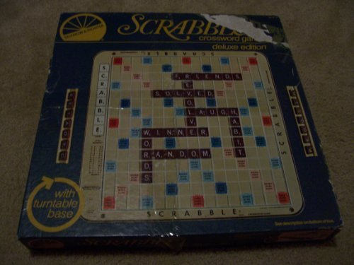 scrabble game turntable - 9