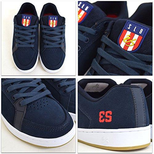 gomma Es Men bianco Navy Skateboard Shoes For Blue 7Cpq7n