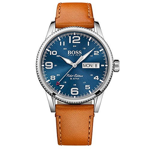 Hugo Boss Mens Analog Dress Quartz Watch (Imported) 1513331