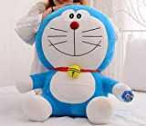 NEWNESS WORLD Doraemon Plush Toy Blue Fat Pillow Cushion for Home Decoration/Best Gift for Kids/Christmas Gift 1pc(pattern 3 35cm)
