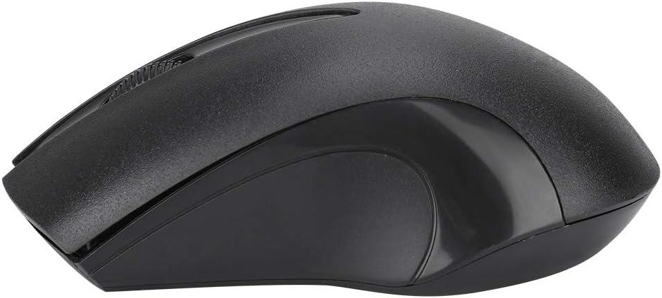 Wireless Smart Optical Mouse Simple Fashion Ergonomic Design Mouse for Laptop Desktop Wider Range of Surface Suitable for Windows2000//XP(64)//Vista//Windows7//Windows10. Pomya Wireless Mouse