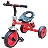 Nagar International Baby tricycle Red metal body 2+ years Baby (Red)