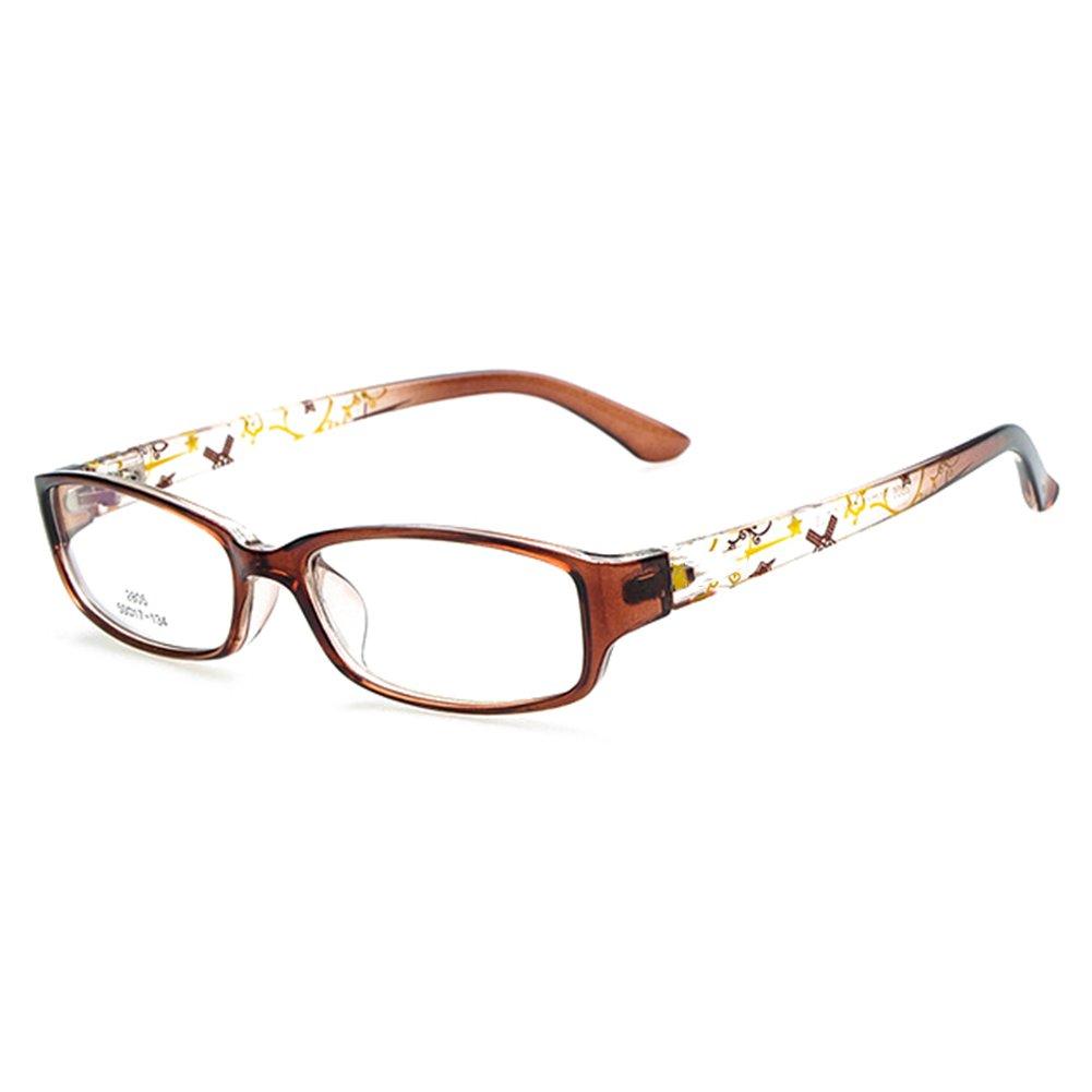 Juleya Bambini Occhiali Telaio - Occhiali per bambini Occhiali da lettura e occhiali da vista retrò per ragazze ragazzi 112205 X171122ETYJJ0508-J