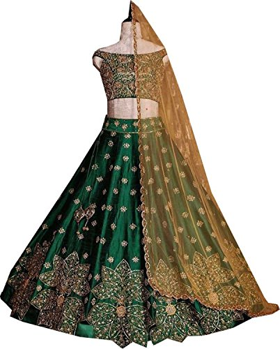 REKHA Ethnic Shop Pakistan Indian Designer Bollywood Wedding Ethnic Clothing Lehenga Choli A86 by REKHA