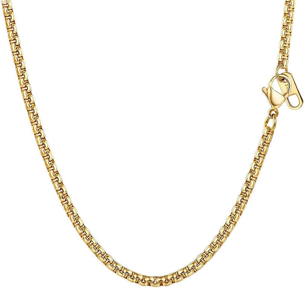 """Para hombres 32/"""" 15 mm Oro Amarillo 18K Collar Cadena de eslabón cubano garantía de vida de cumpleaños"""