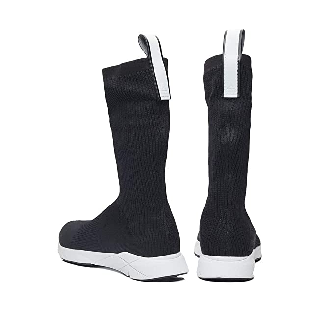 67bf7dfddeea Amazon.com  Reebok Sock Runner Print (Black Classic White) Men s Shoes  CN4742  Sports   Outdoors