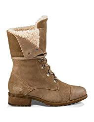 UGG Gradin Lace Up Fold-Down Women's Combat Boots