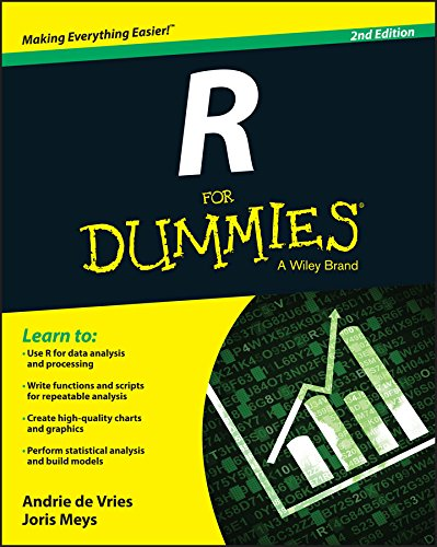 R For Dummies cover