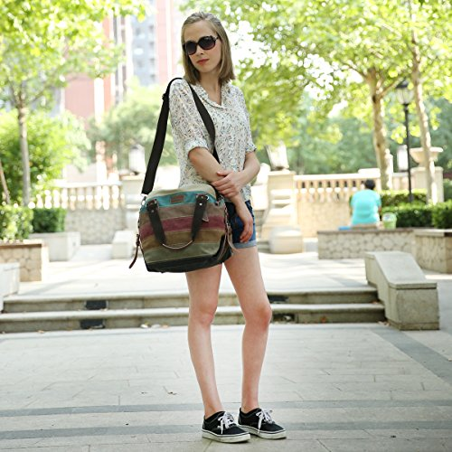 mom Canvas Messenger Bag Handbags Bag Body for Multicolored Shoulder Women Cross Eshow and Hobo bag Bag women Purse qfxOtSPw