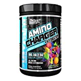 Nutrex Research Amino Charger Plus Hydration | BCAA, Coconut Water, Electrolytes, Taurine, Magnesium for Maximum Performance & Recovery | Cosmic Blast | 30 Servings For Sale